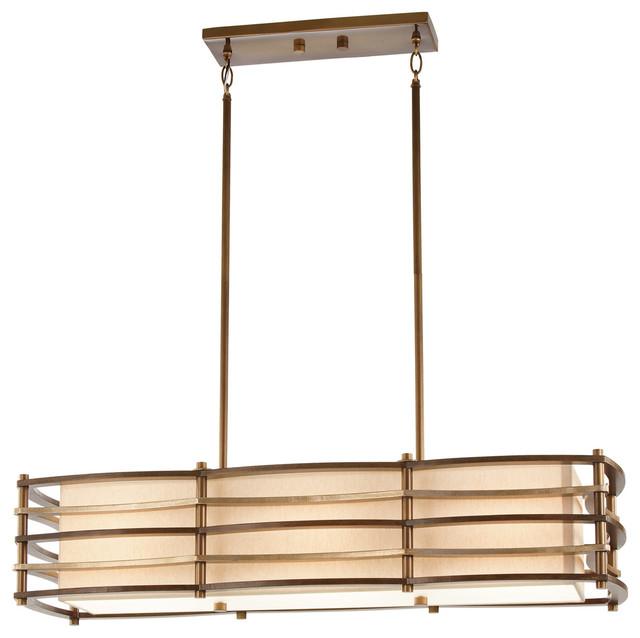 kichler lighting 42061cmz moxie 3 light island lights in. Black Bedroom Furniture Sets. Home Design Ideas