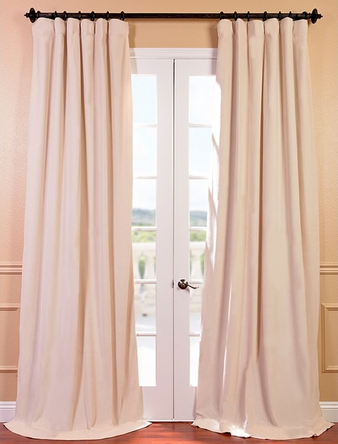 ... Blackout Curtain Panel - Victorian - Curtains - by Overstock.com