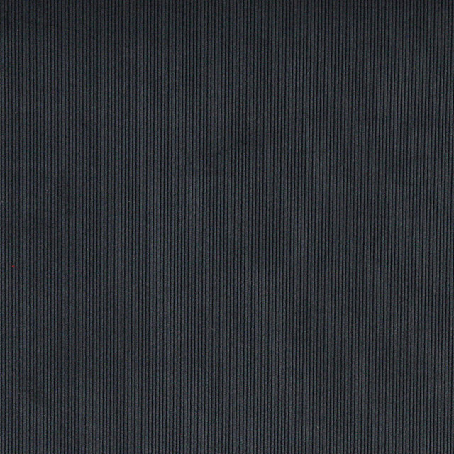 Operation Ceiling Thin Blue Strip: Navy Blue Corduroy Thin Stripe Upholstery Velvet Fabric By