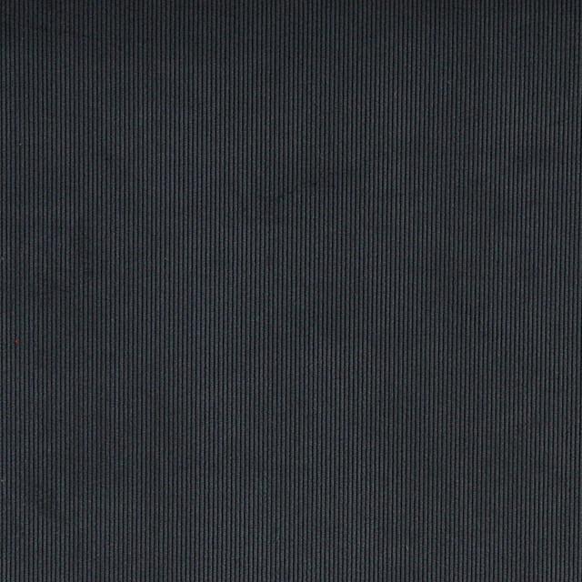 Navy Blue Corduroy Thin Stripe Upholstery Velvet Fabric By
