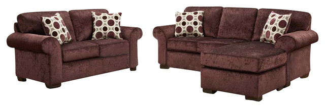 chelsea home worcester 2 piece living room set chaise in
