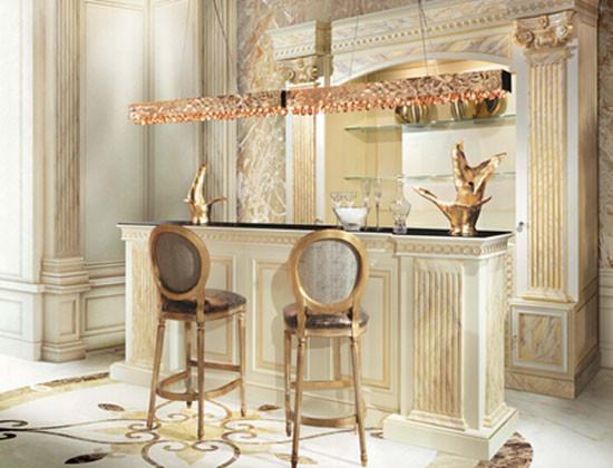 Louis Style Italian Beech Wood Bar Stool Contemporary Bar Stools And Kitchen Stools