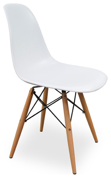DSW Eames Dining Chair White Replica Midcentury Dining  : midcentury dining chairs from www.houzz.com.au size 370 x 591 jpeg 26kB