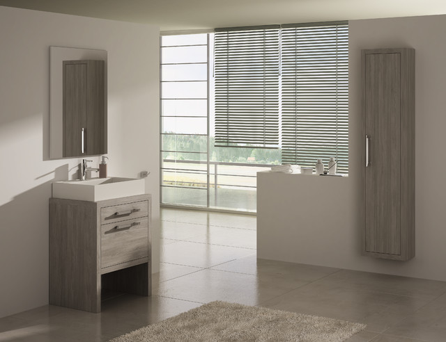 Montreal 24 inch bath vanity contemporary bathroom for Bathroom design montreal