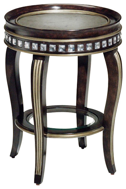 Marge carson gramercy chairside table traditional side tables end tables by tabula tua Traditional coffee tables and end tables