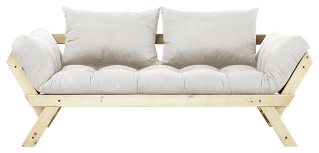 Fresh Futon Bebop Convertible Futon Sofa Bed Natural