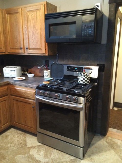 Ideas To Make Microwave Look Built In