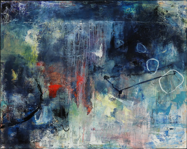 Abstract Work San Francisco By Shanna Bruschi Paintings