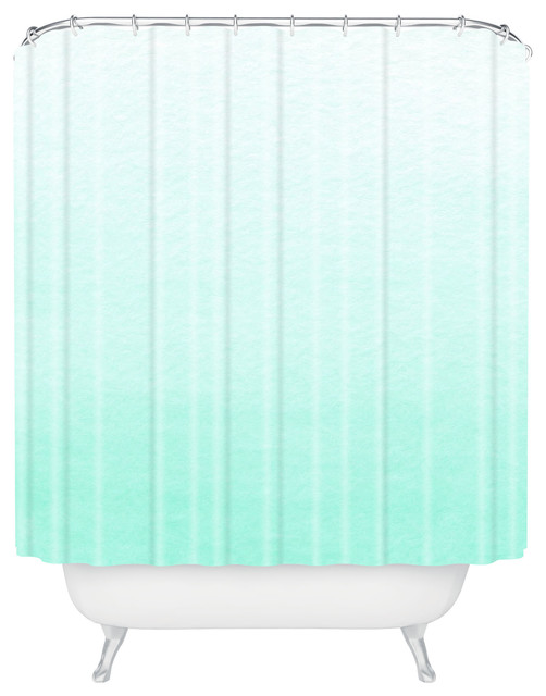 proper mint ombre shower curtain beach style shower curtains