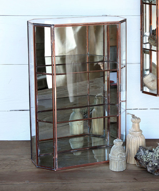 Cornell Curio Cabinet - Large transitional-china-cabinets-and-hutches
