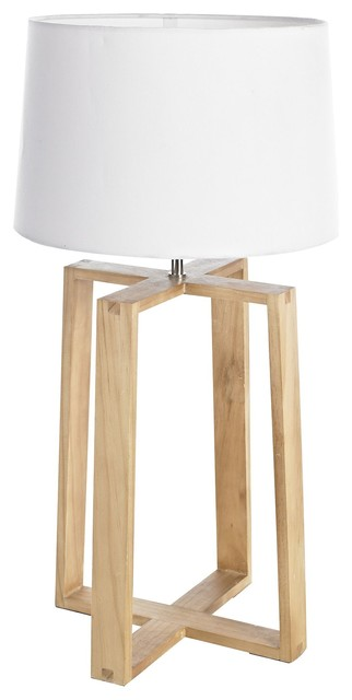 mendel wooden base table lamp rustic table lamps south east by b q. Black Bedroom Furniture Sets. Home Design Ideas