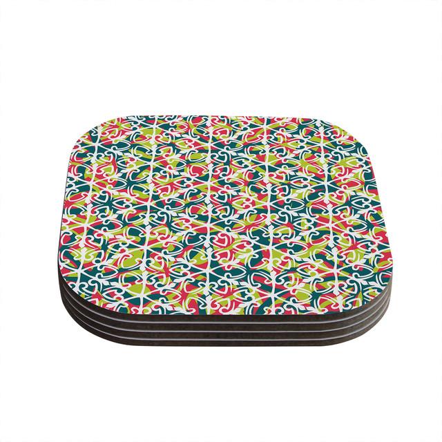 Miranda Mol Cool Yule Coasters Set Of 4 Contemporary