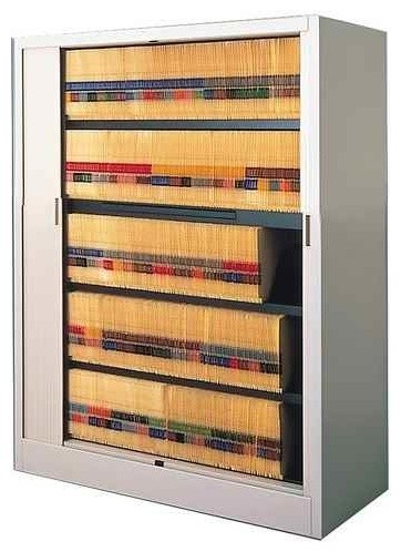 File Harbor Large Cabinet w 5 Shelves contemporary-filing-cabinets