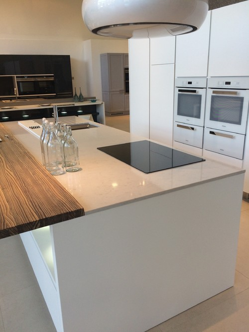 Kitchen Island With Or Without Hob For Cooking