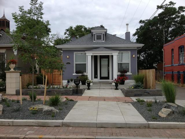 Urban front yard re landscape 2013 craftsman landscape other