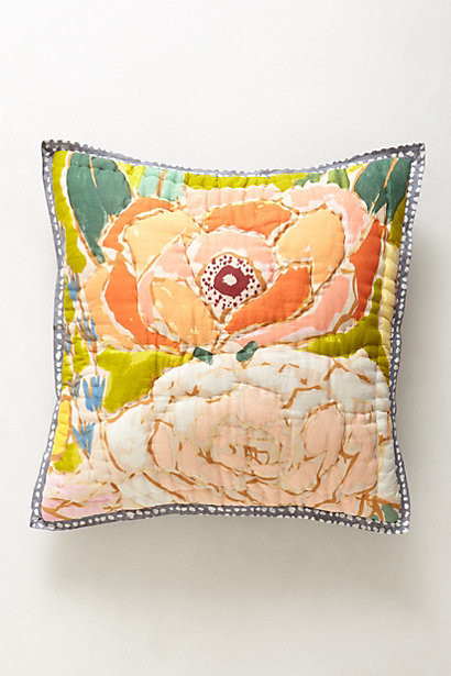 Eclectic Pillow Cases : Witherbee Square Pillowcase - Eclectic - Pillowcases And Shams