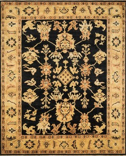 morrow traditional black light gold 2 x3 area rug