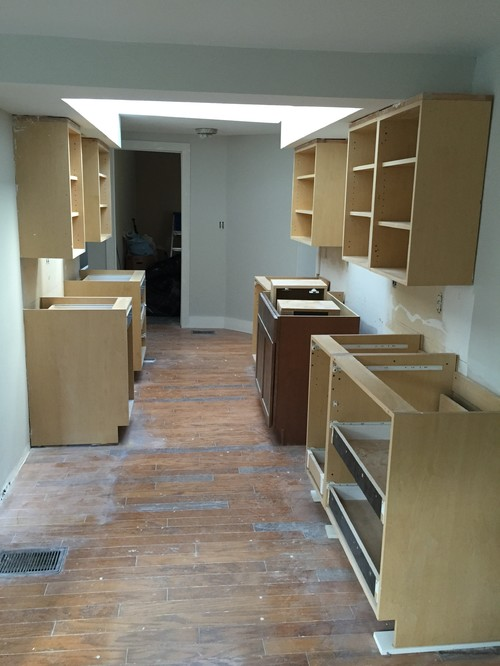 Help w kitchen cabinet configuration w wacky soffit for Kitchen configurations