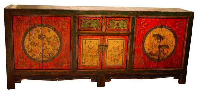 Antique reproduction rad asian cabinet asian buffets for Oriental furniture los angeles