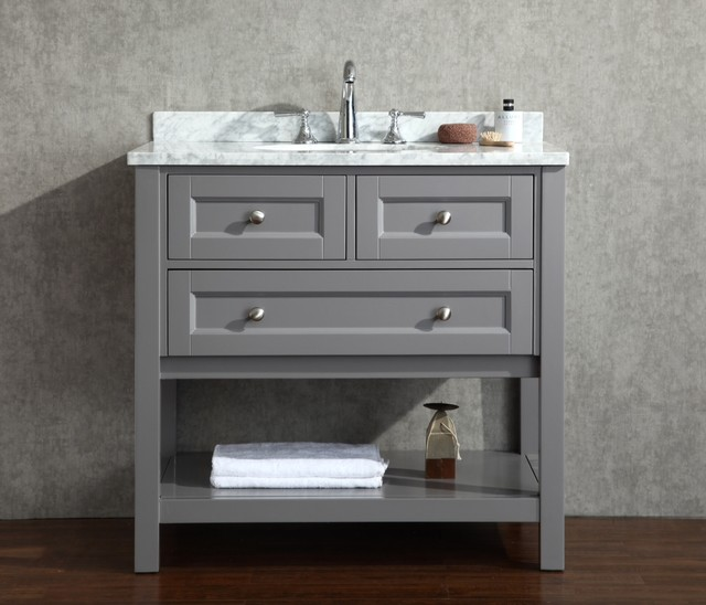 Brilliant The Best Way To Pull Off Wallpaper In Any Room In Your House Is To Stick To A Theme Such As Hamptons Or Art  A Full Basin On A Narrower Vanity When A Fullsized Vanity Cant Be Squeezed In, He Says Countrystyle Bathroom Vanities