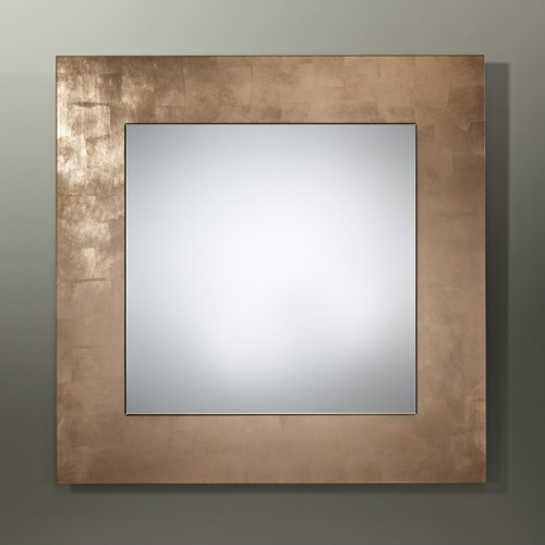 deknudt mirrors basic copper square mirror moderne miroir mural par abitare uk. Black Bedroom Furniture Sets. Home Design Ideas