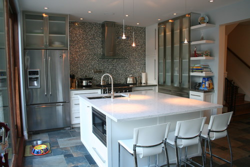 Kitchen remodel in montreal for Kitchen design montreal