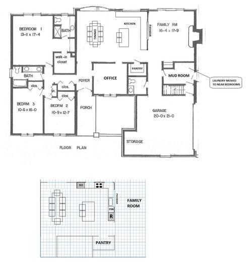 Graph paper home design - House design plans