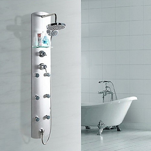 Shower faucets contemporary showerheads and body sprays new york by for Bathroom shower heads and faucets