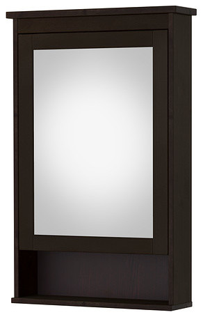 HEMNES Mirror Cabinet With 1 Door Traditional Medicine Cabinets By IKEA
