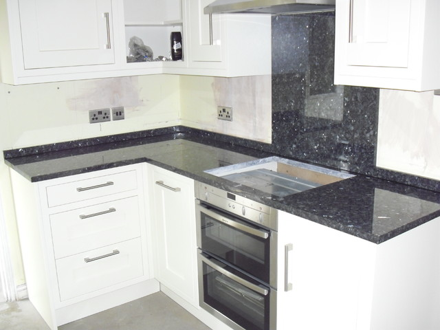 Blue Pearl Granite worktops - Contemporary - Manchester - by Cheshire Granite Worktops