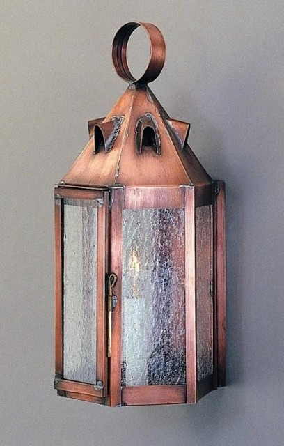 Tudor Wall Lantern - Traditional - Outdoor Wall Lights And Sconces - philadelphia - by Copper ...