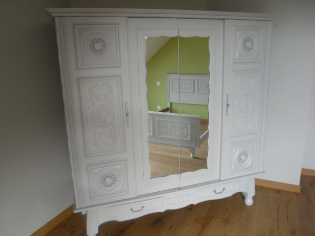 R novation chambre et son mobilier shabby chic for Mobilier shabby chic
