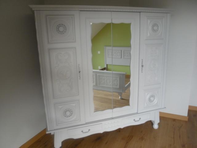 r novation chambre et son mobilier shabby chic