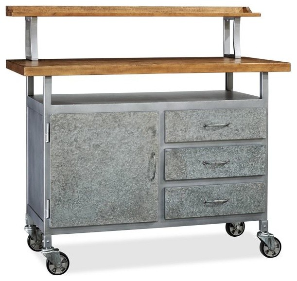Industrial Kitchen Trolley: Barkley Console Table