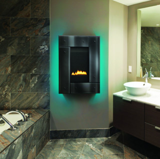 heat glo revo series gas fireplace