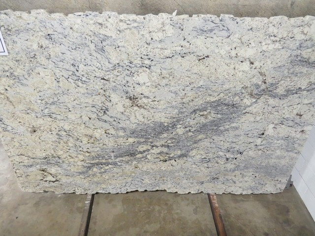 White Ice Granite Modern Kitchen Countertops Atlanta