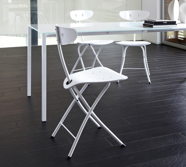 Bonaldo Piu Folding Chair Contemporary Folding Chairs & Stools lond