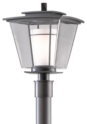 Beacon hall outdoor post light modern post lights by for Contemporary outdoor post light fixtures