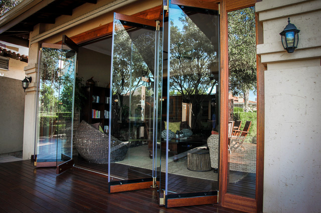 Frameless Folding Doors Rustic Other By Van Acht