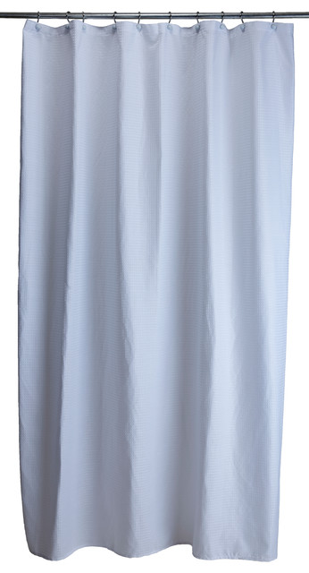 Extra Long Shower Curtain Waffle Traditional Shower Curtains By Legacy Design Group