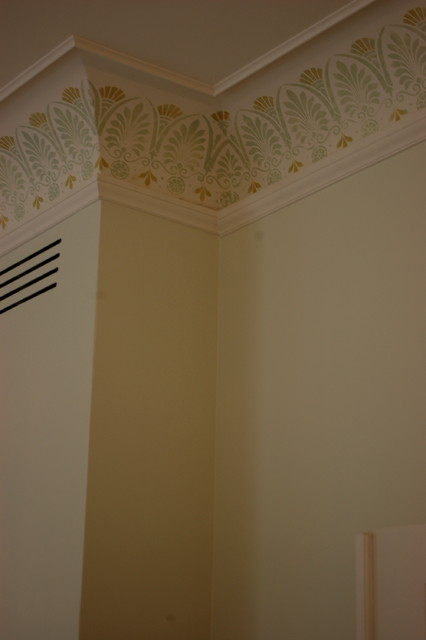 Stencilled Frieze - Traditional - baltimore - by Rising Tide Inc.