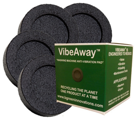 VibeAway Washer Base Pads Contemporary Furniture Floor