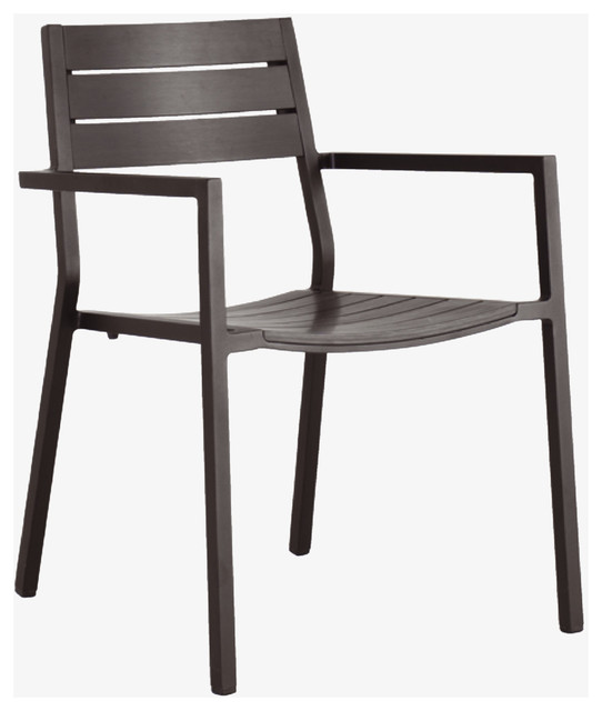 Belize Metal Black garden armchair HabitatUK Modern Outdoor Dining Chai