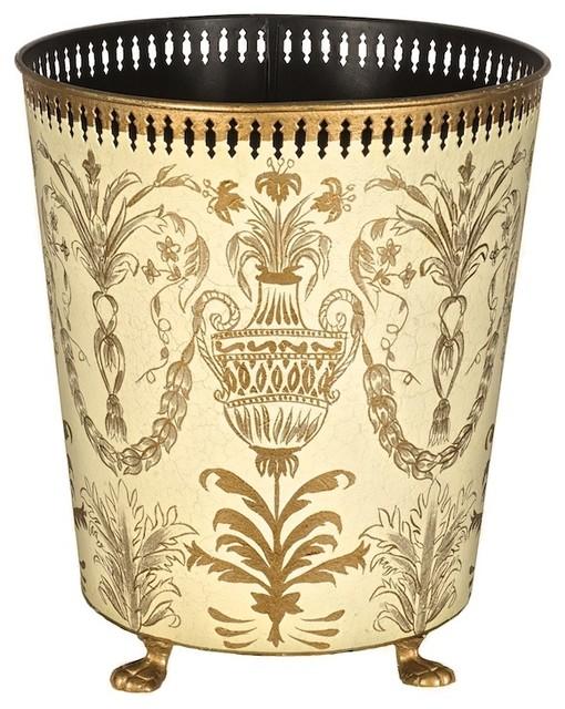 Decorative waste paper bins autumn waste paper bin for Decorative items from waste paper