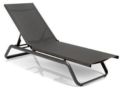 niels transat bain de soleil gris contemporain transat et chaise longue ext rieure par. Black Bedroom Furniture Sets. Home Design Ideas