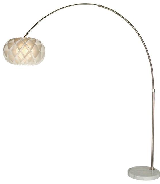 Honeycomb Arc Floor Lamp Modern Floor Lamps by Inmod : modern floor lamps from www.houzz.com size 556 x 640 jpeg 20kB