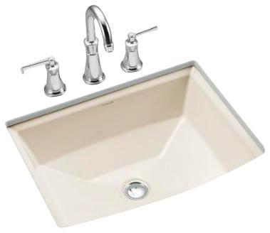 Kohler Archer Sink Undermount : KOHLER K-2355-96 Archer Under-Mount Bathroom Sink - Contemporary ...