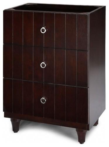 Xylem Capri Drawer Bridge Eclectic Bathroom Cabinets