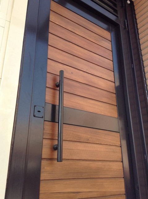Garden door modern front doors other metro by yi for Garden door designs