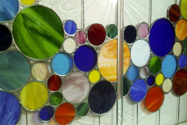 custom stained glass cabinet inserts 1